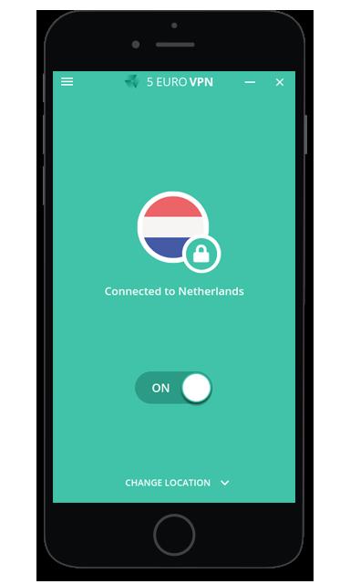 5 Euro VPN app